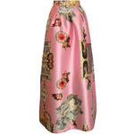 Sicily Powder Pink, Long Skirt
