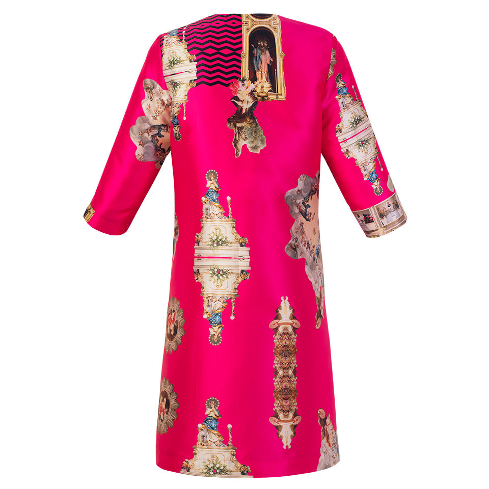 Sicily Hot Pink, Occasion Coat