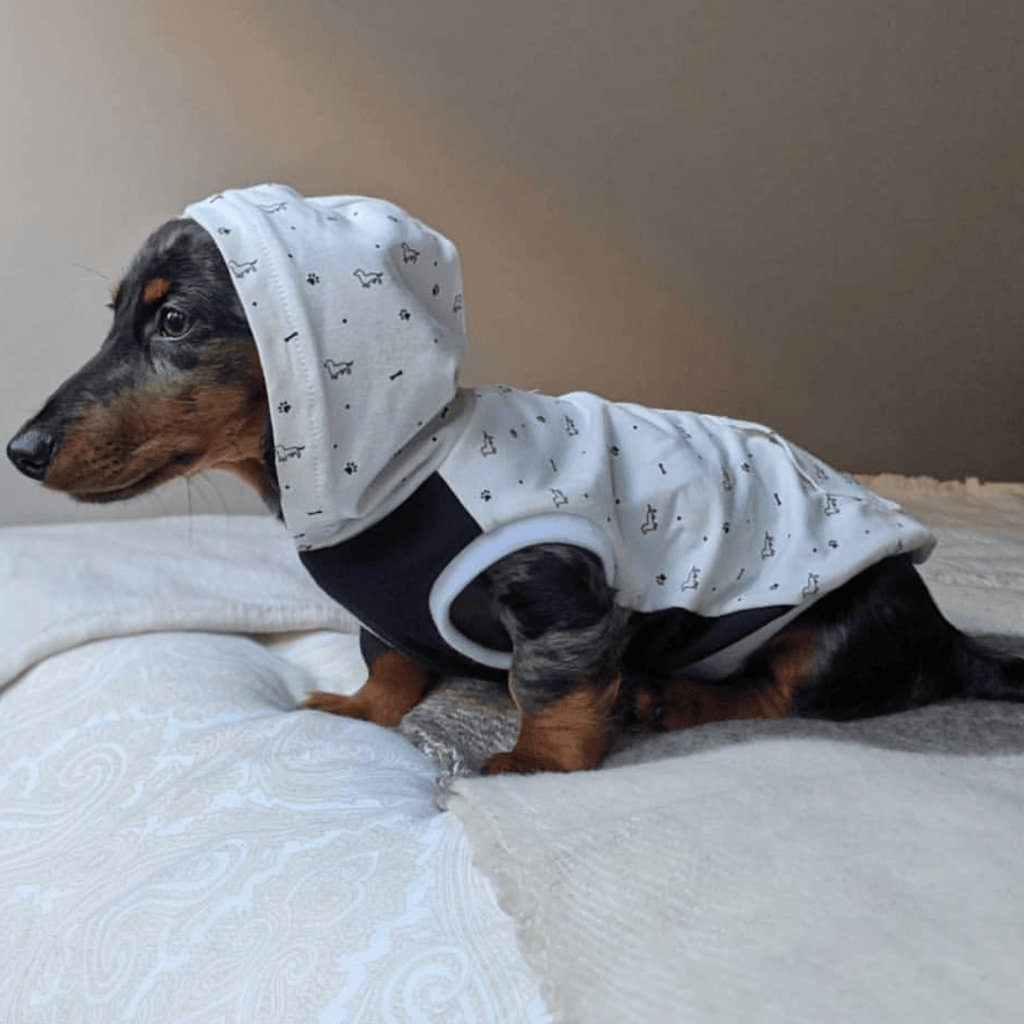 Bamboo Dog Hoodie | For the Love of Dogs | The Sharper Barker - SnuggleDogz
