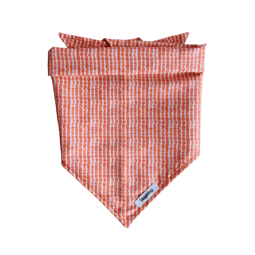 Dog Bandana Orange Tie Dye | Chic - SnuggleDogz