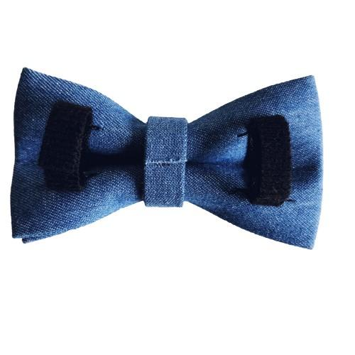Dog Bow Tie Dark Denim | Timeless - SnuggleDogz