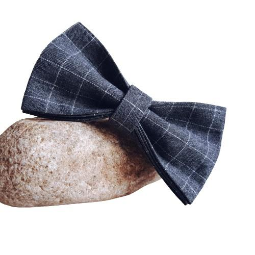 Dog Bow Tie Grey | Dapper - SnuggleDogz