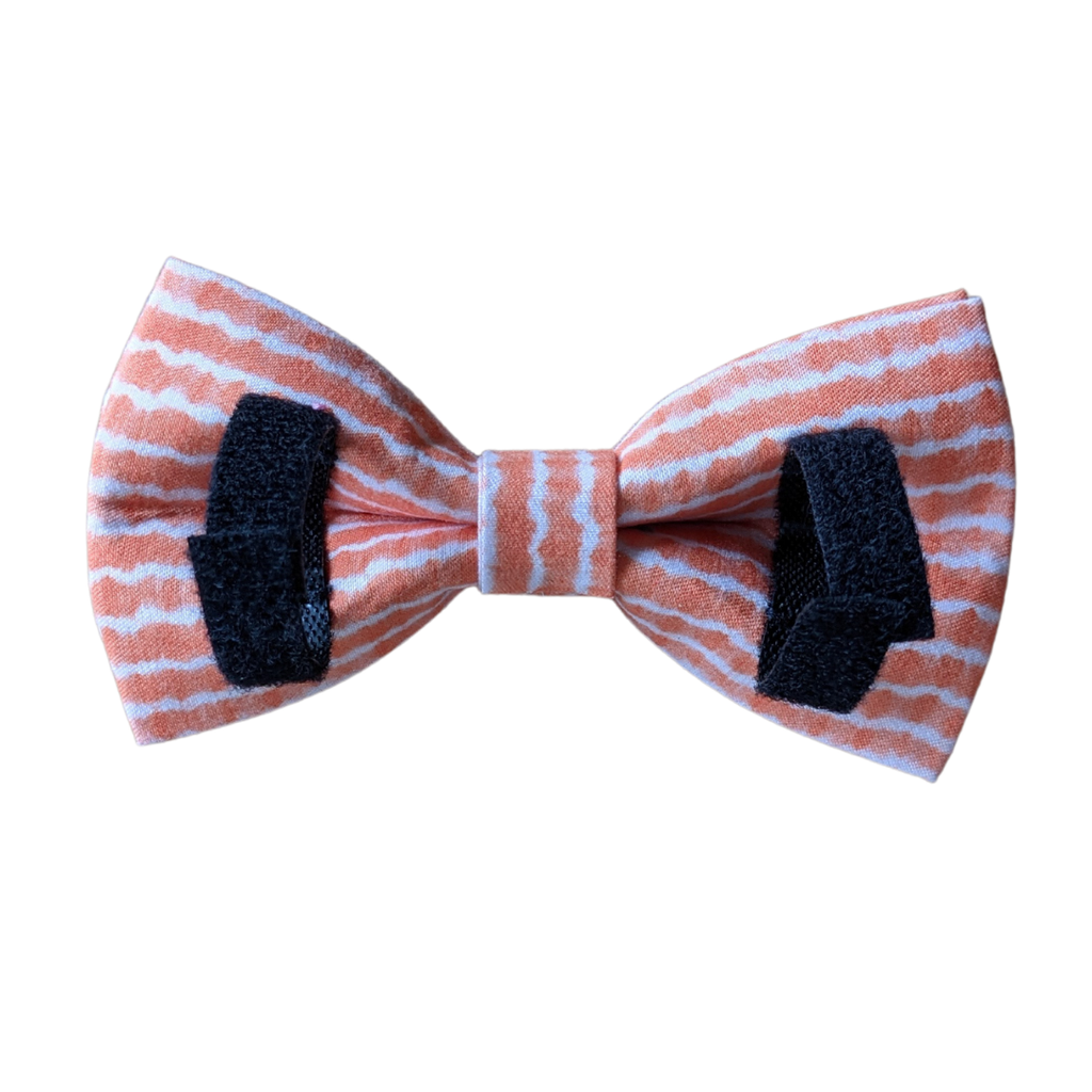 Dog Bow Tie Orange Tie Dye | Chic - SnuggleDogz