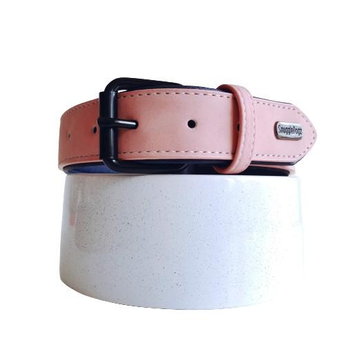 Dog Collar Blush Pink | Loyal - SnuggleDogz