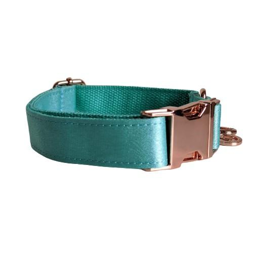 Dog Collar Mint Green | Glamorous XS / Rose Gold - SnuggleDogz