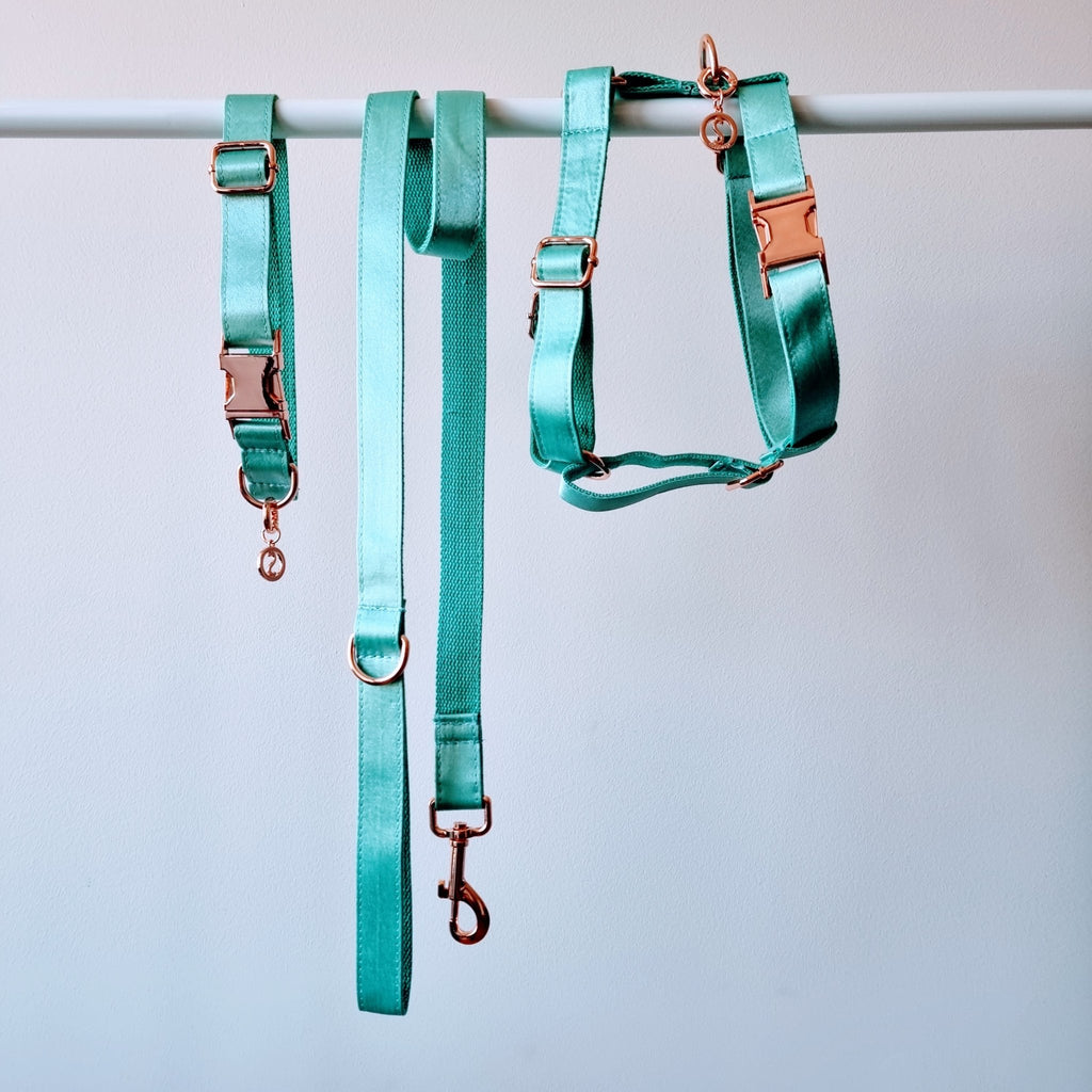 Dog Harness Mint Green | Glamorous - SnuggleDogz