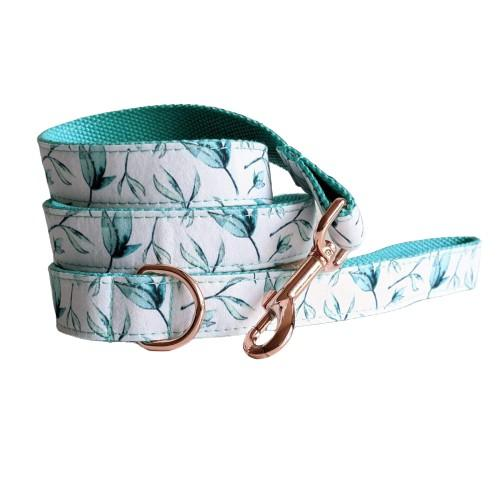 Dog Leash Green Leaf | Refined - SnuggleDogz