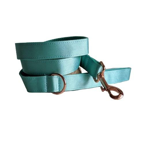 Dog Leash Mint Green | Glamorous S / Rose Gold - SnuggleDogz