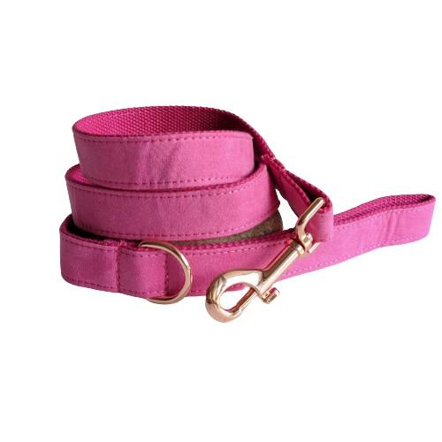 Dog Leash Velvet Pink | Timeless - SnuggleDogz