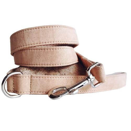 Dog Leash Velvet Wheat | Timeless - SnuggleDogz
