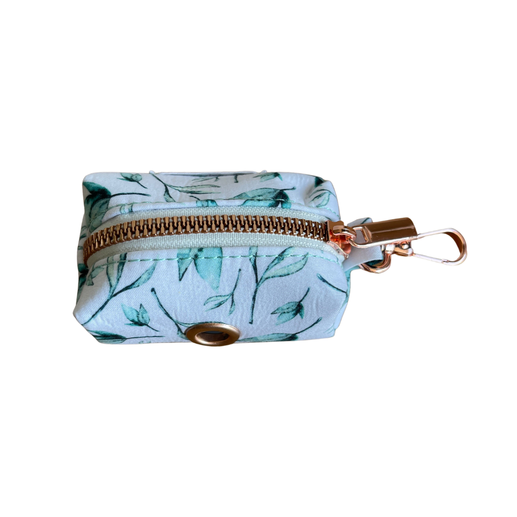 Dog Waste Bag Holder Green Leaf | Bold - SnuggleDogz