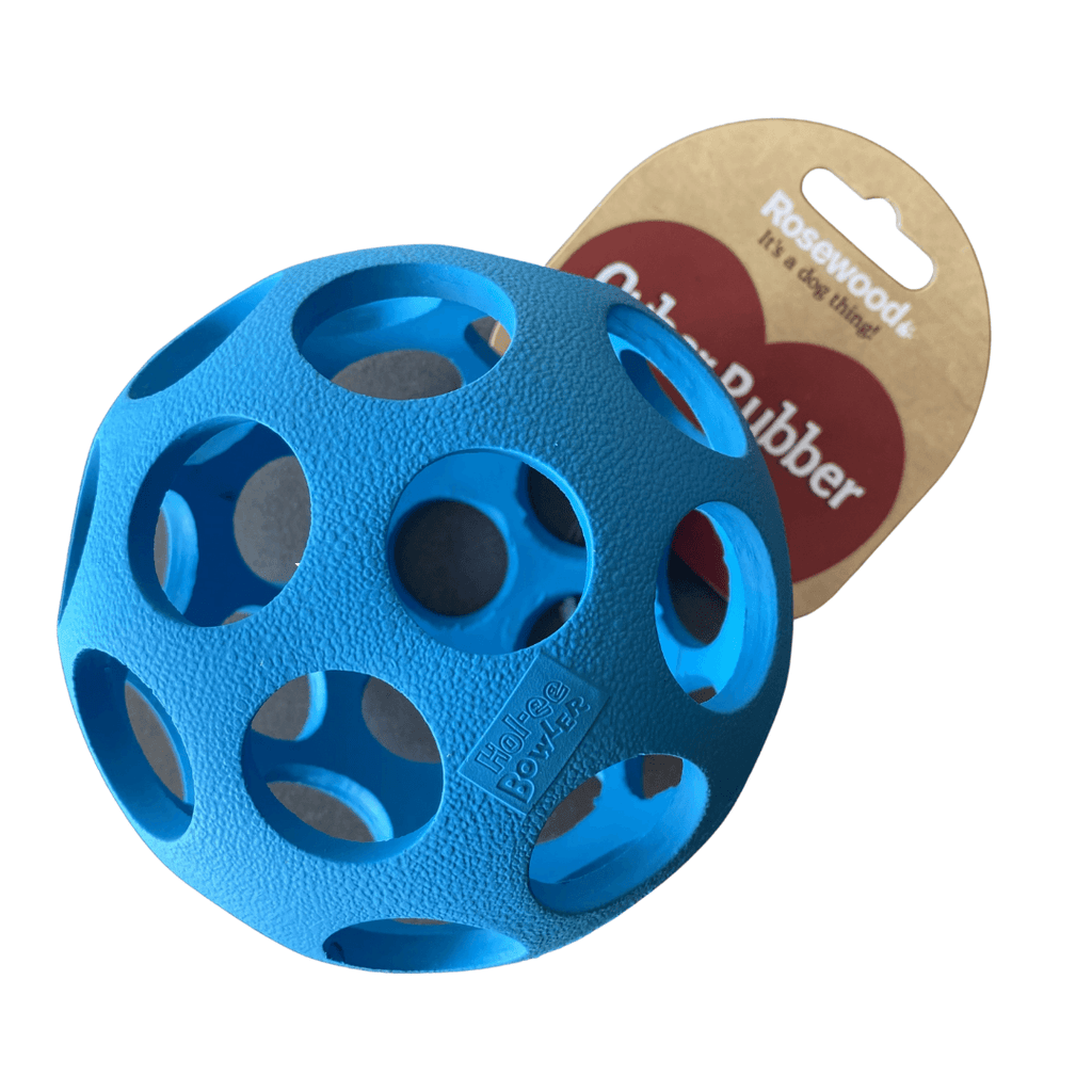 Lattice Ball Dog Toy | Rosewood Blue - SnuggleDogz