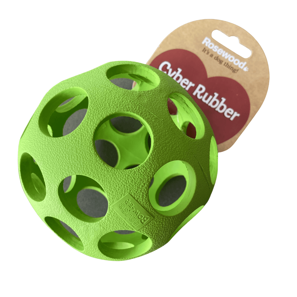 Lattice Ball Dog Toy | Rosewood Green - SnuggleDogz