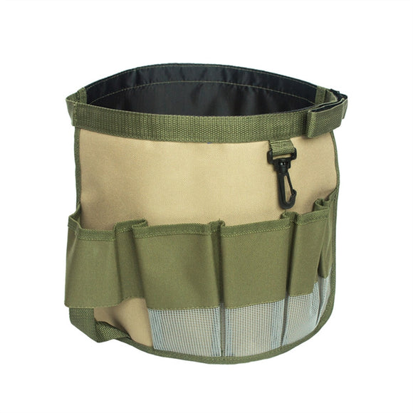 Garden Tool Belt Gardening Tool Bucket Organizer Hardware Tools Bag with Multi-Pocket
