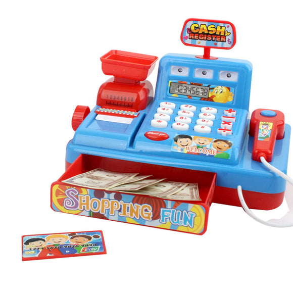Educational toys Role Play Toy Supermarket Cash Register Cashier toys