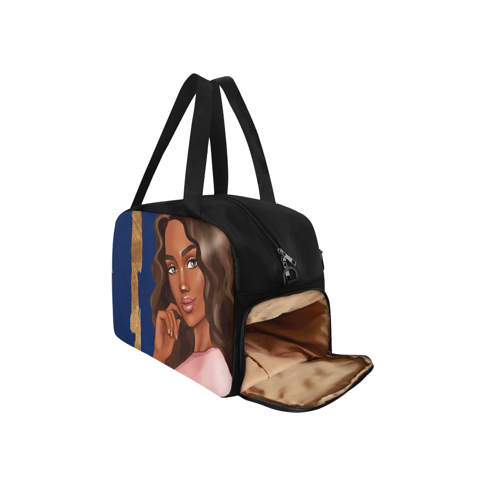 Afrocentric Woman Duffle Bag