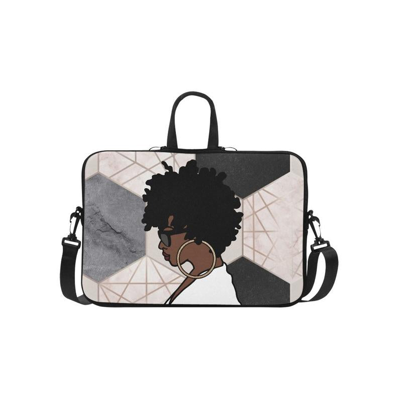 Afrocentric Woman Laptop Bag