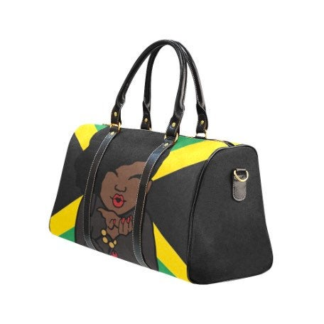 Jamaican Woman Travel Bag