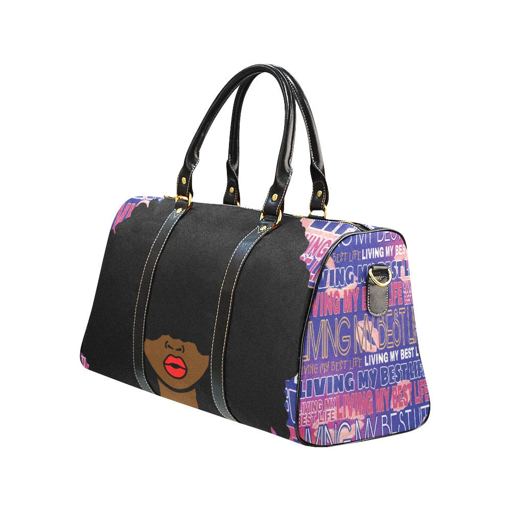 Afrocentric Travel Bag
