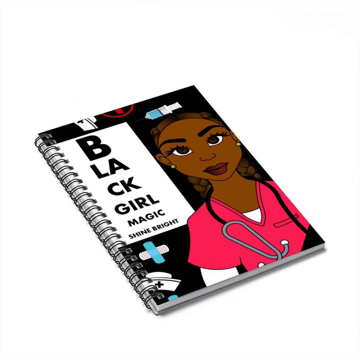 Black Woman  Nurse Journal