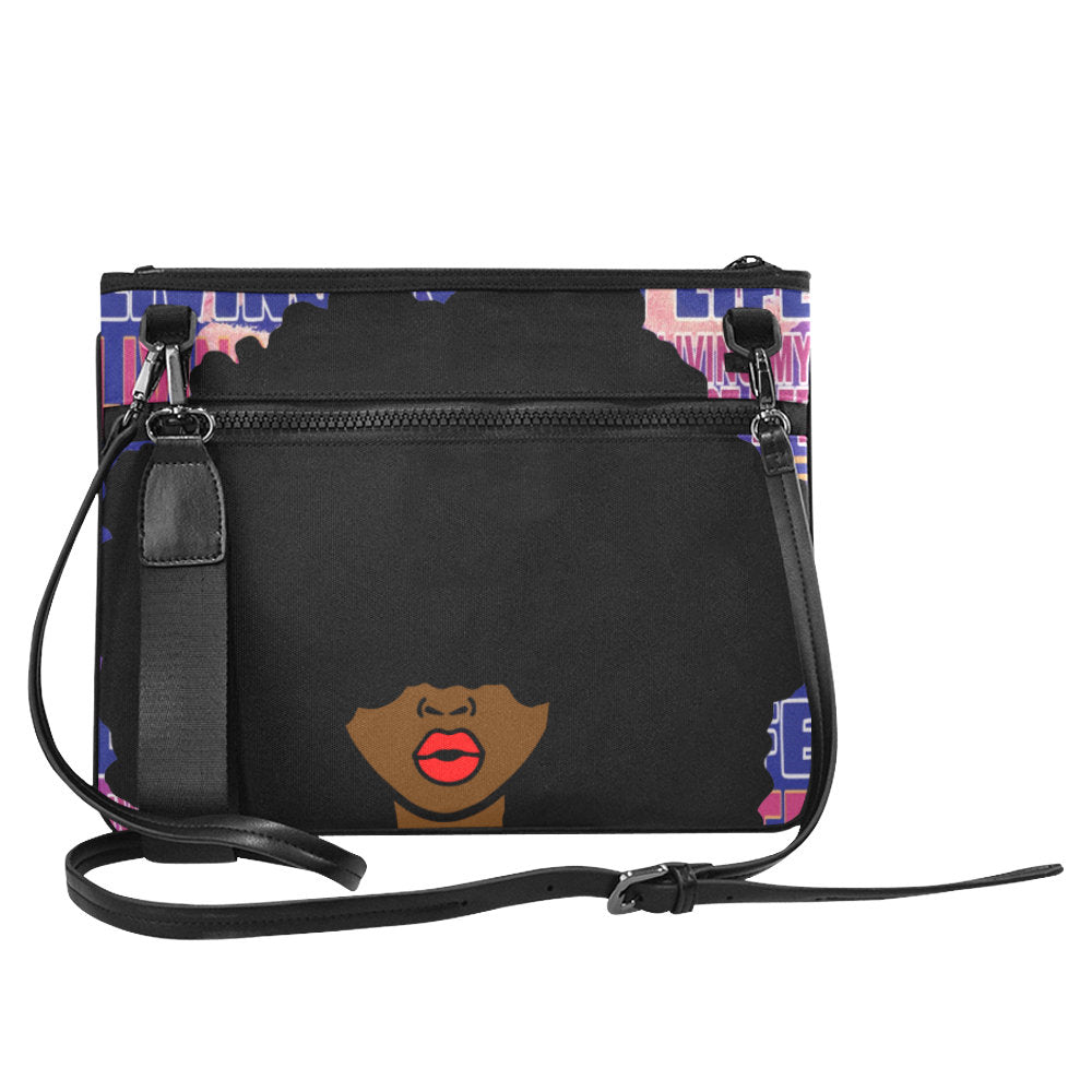 Afrocentric Woman Clutch Bag