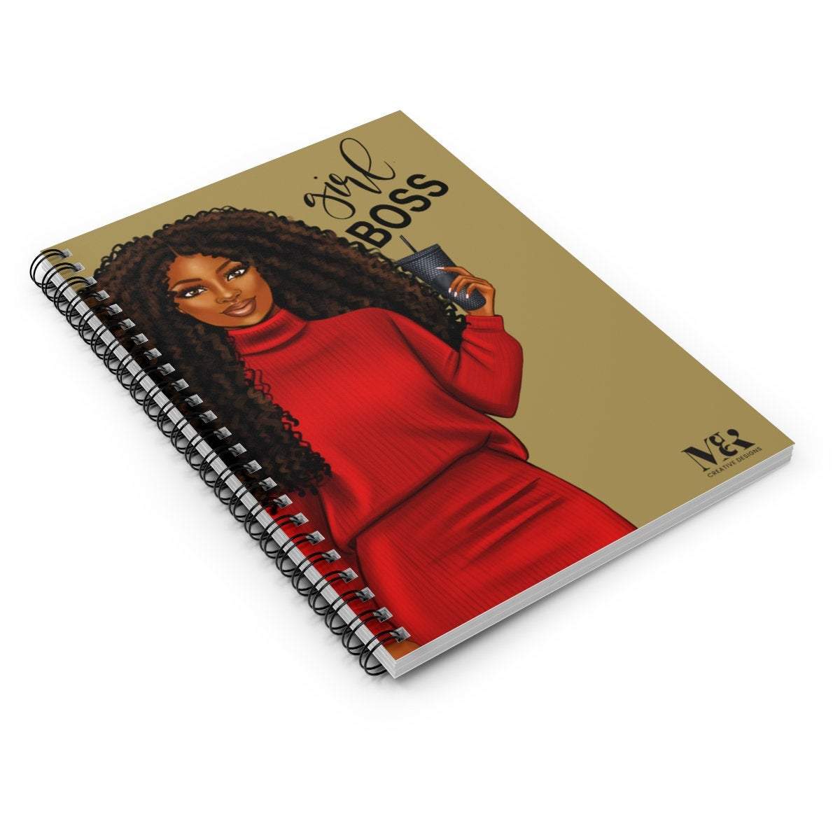 Girl Boss Black Woman Journal
