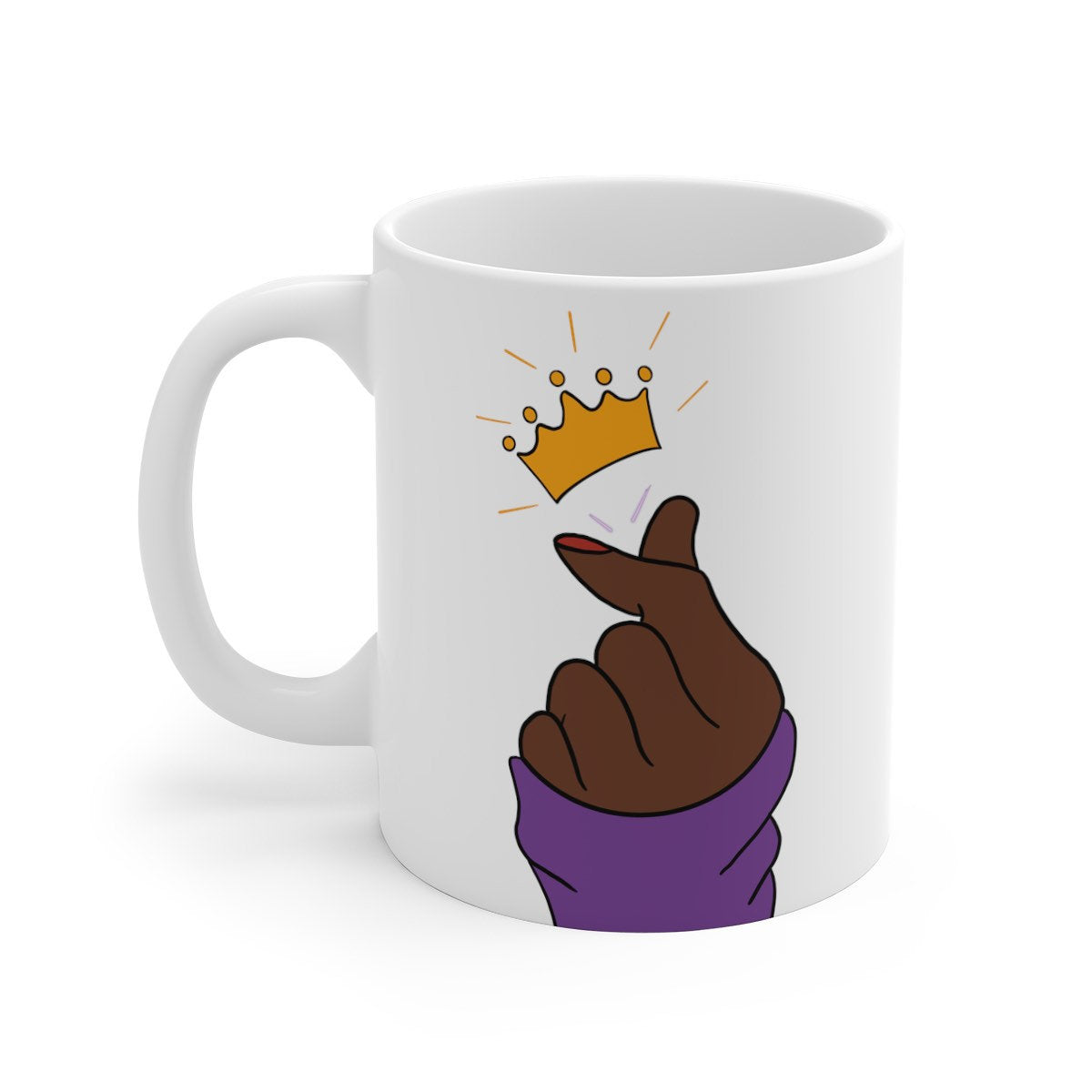 Black Woman Queen Mug
