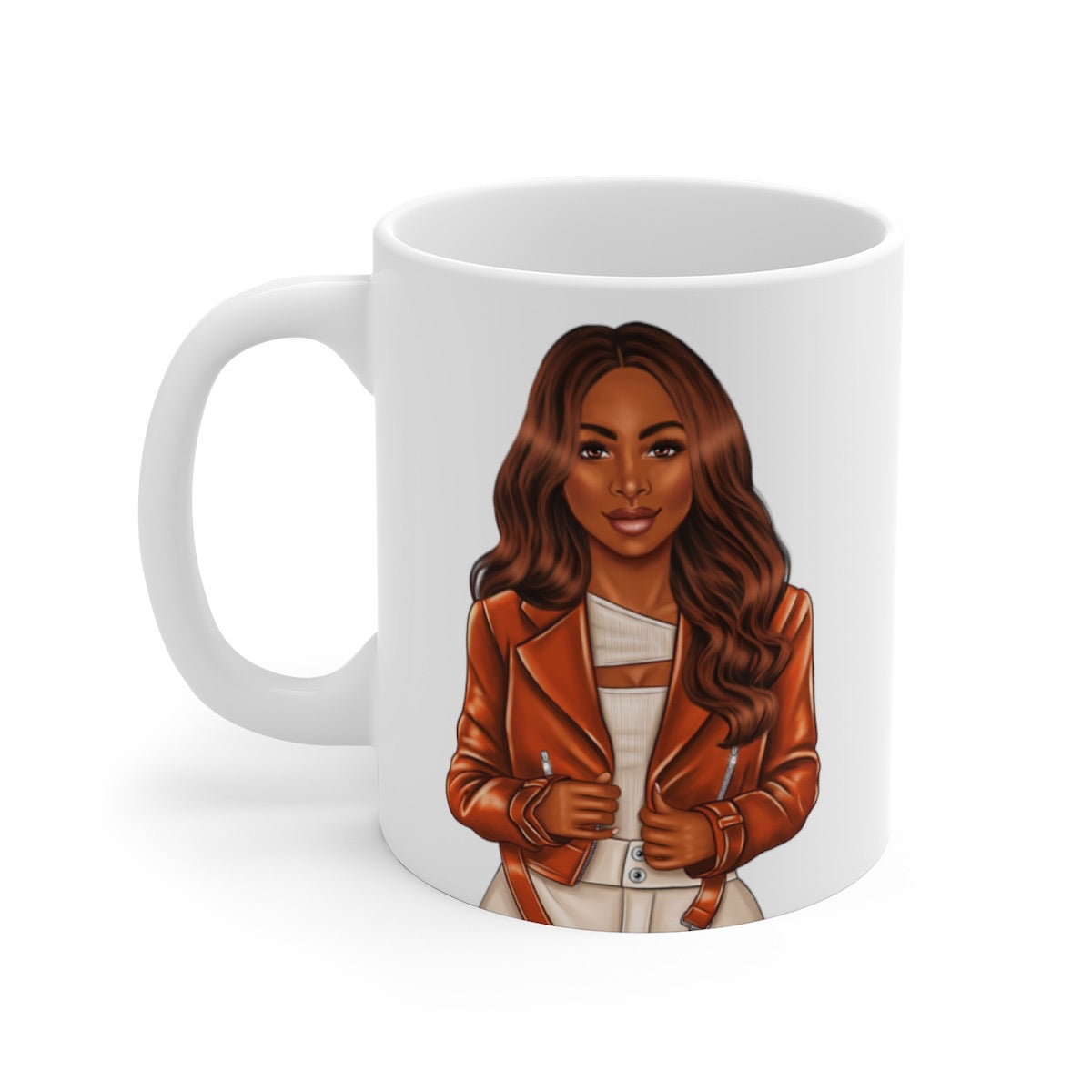 Afrocentric Woman Coffee Mug