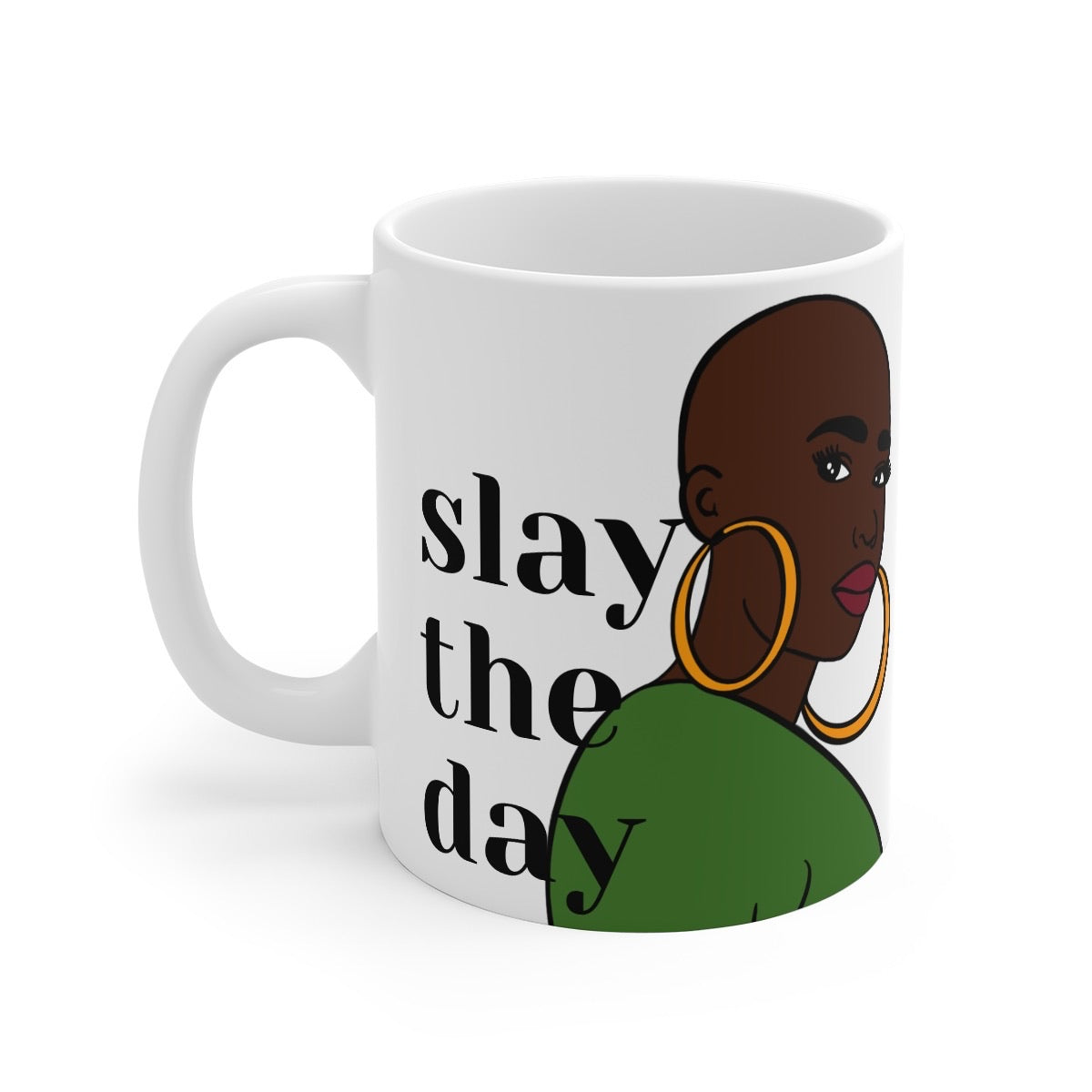 Afrocentric Queen Slay Coffee Mug