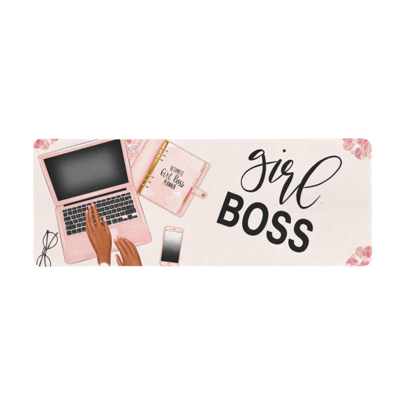 Large Girl Boss Mouse Pad