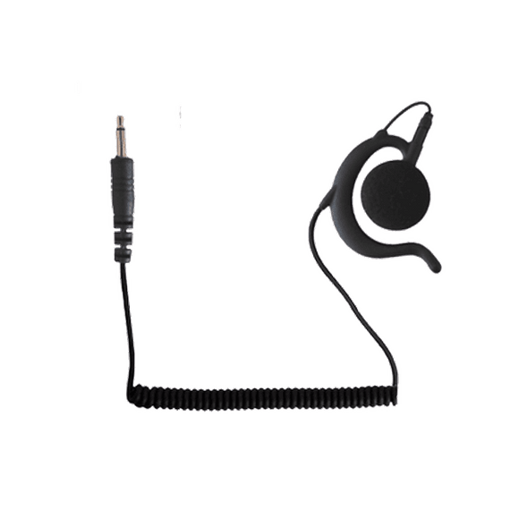 WPEH 3.5mm Large black earpiece.
