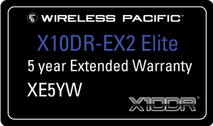 XE5YW Extended warranty - Elite series 5 yrs total.