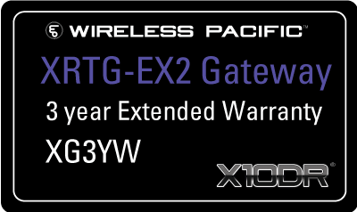 XG3YW Extended warranty - Elite XRTG series - 3 yrs total.