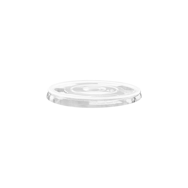 Clear Cup Flat Lid