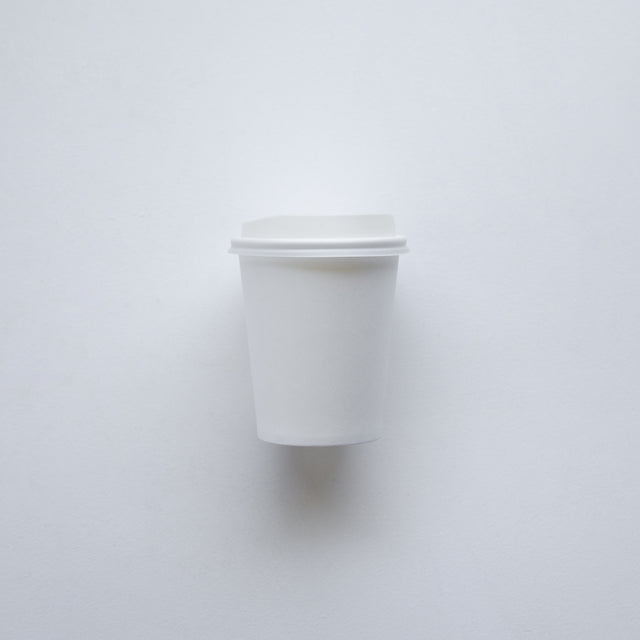 Hot Cup Lid White