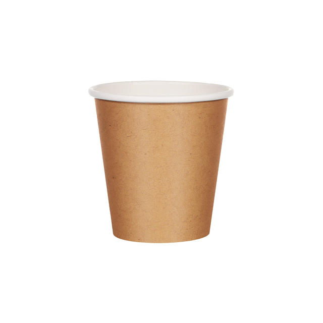 Single Walled Hot Cup - Kraft