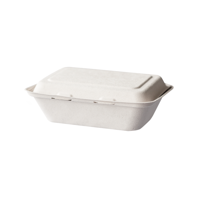 Bagasse Clam Small