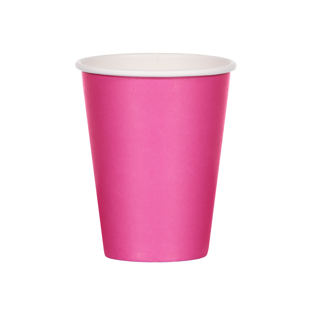 Single Walled Hot Cup - Magenta