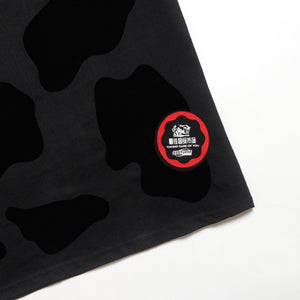 Chinese New Year Cow Tee Black