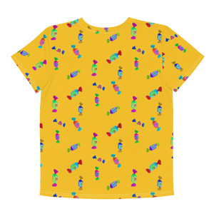 Youth Size Güm Print Tee/Yellow