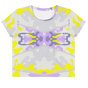 Spuff.Co Print Crop Tee (Cherub)
