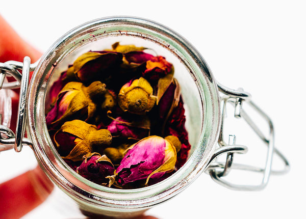 Dry Herbs | Rose Buds & Chamomile