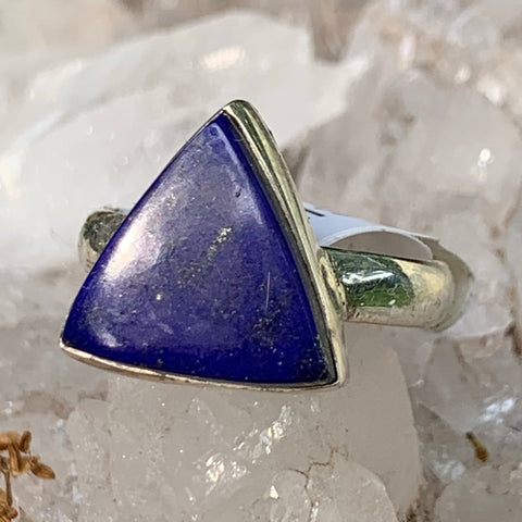 Lapis Carved  sz8