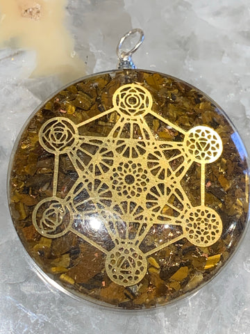 Metatron Orgonite Pendant