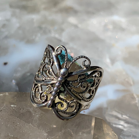 Butterfly Ring sz 6