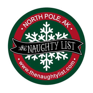 The Naughty List Sticker - The Naughty List