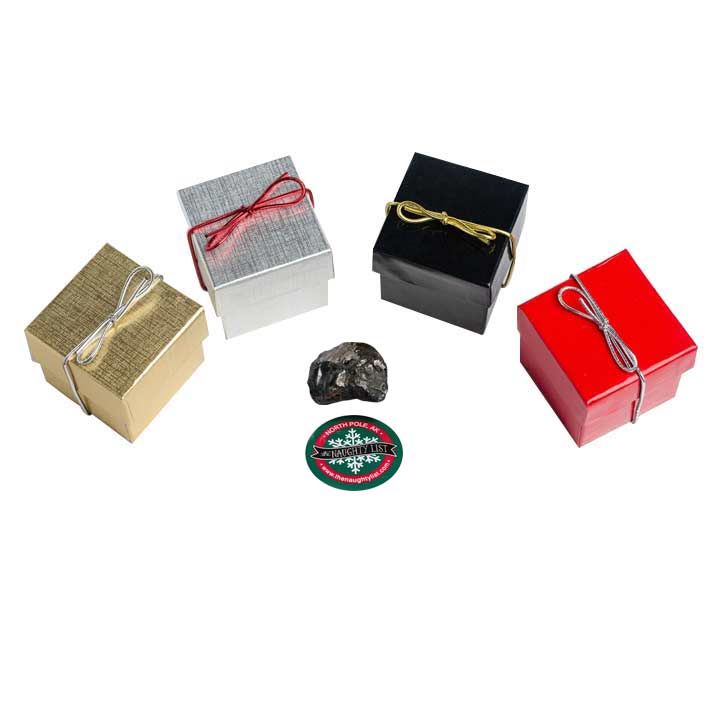 Christmas Coal Group - Gag Christmas Gifts for the Whole Family - www.thenaughtylist.com