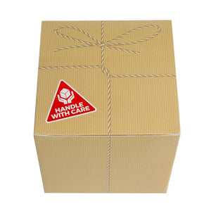 "Christmas Lump of Coal - ""Handle with Care"" Packaging"