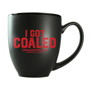 I Got Coaled | Coffee Cup & Coal with Red Insert - Pic6 | Gift Sets | www.thenaughtylist.com