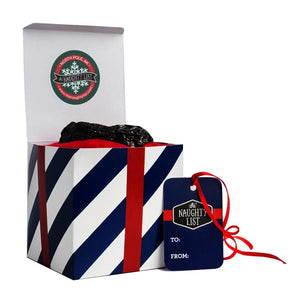 "Large lump of coal - ""Navy-N-Nice"" packaging available at http://www.thenaughtylist.com"